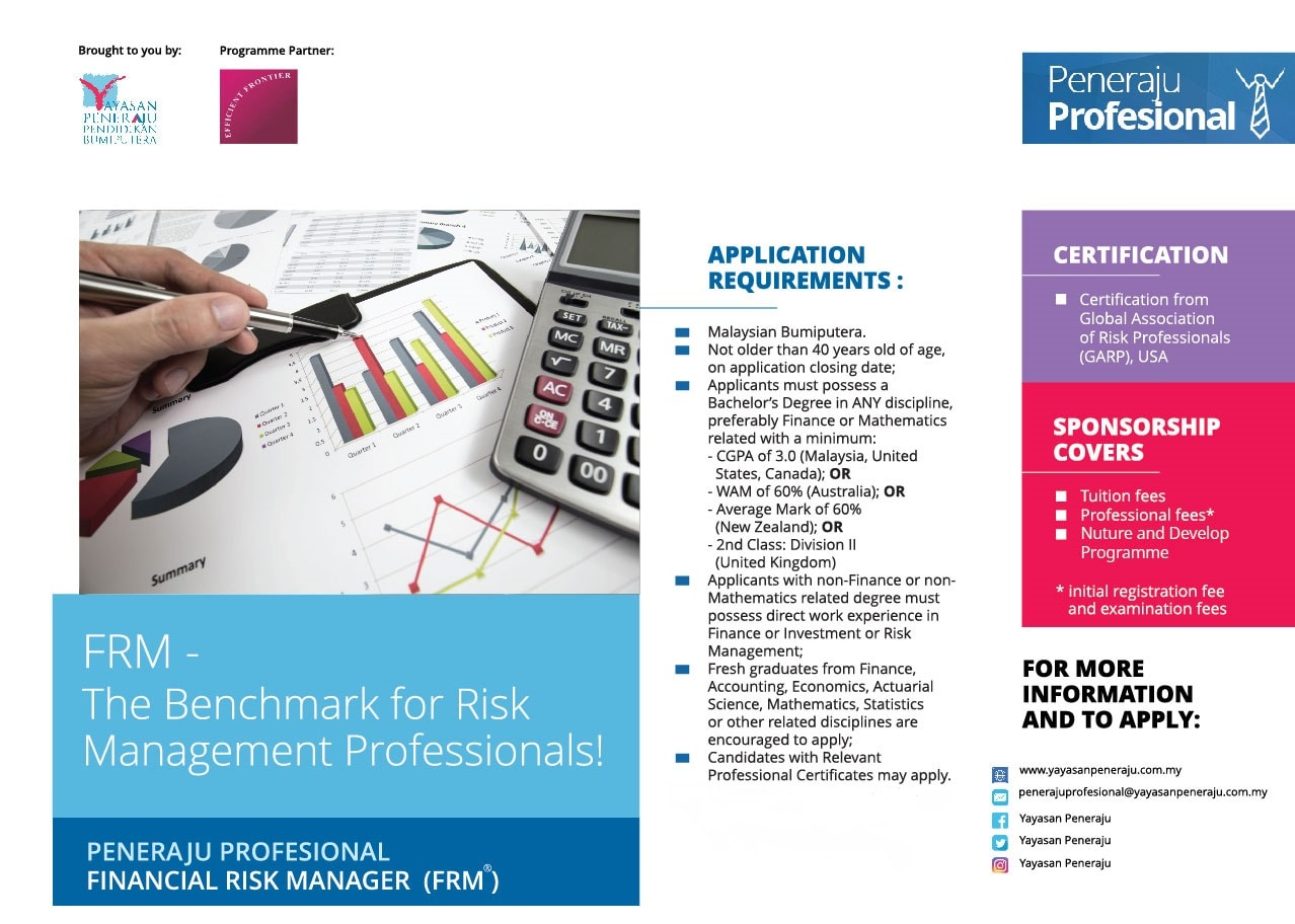 Peneraju Profesional Financial Risk Manager (FRM®)
