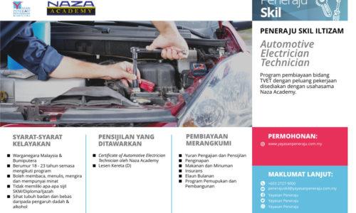 Peneraju Skil Iltizam Automotive Electrician Technician