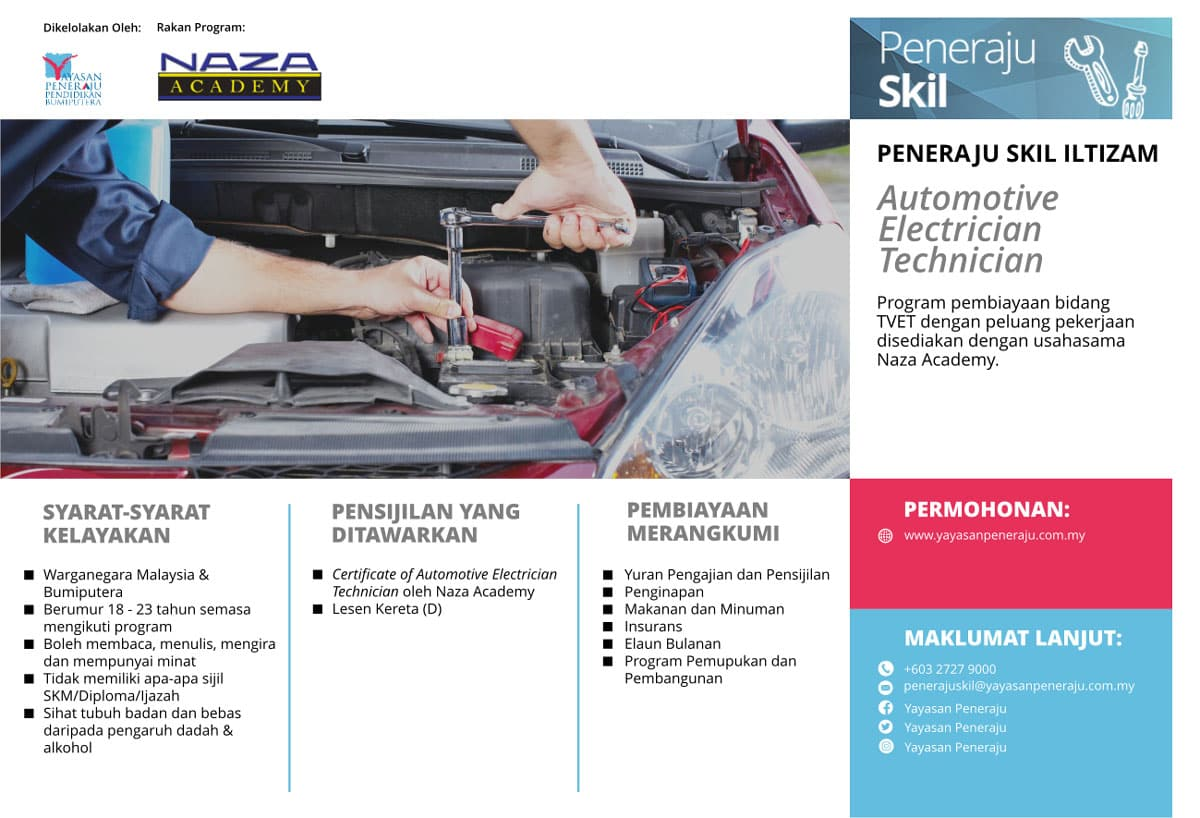 Peneraju Skil Iltizam Automotive Electrician Technician