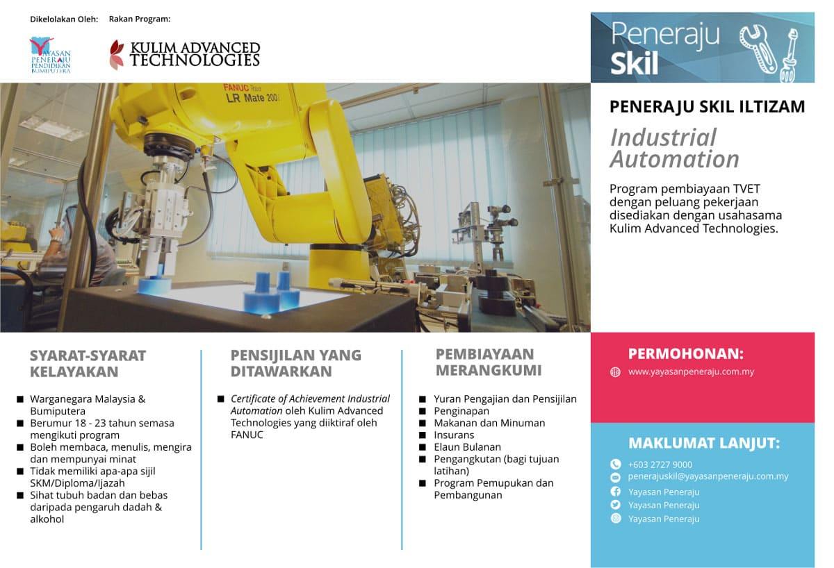 Peneraju Skil Iltizam Industrial Automation